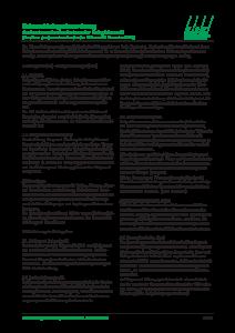Rahmenkleingartenordnung
